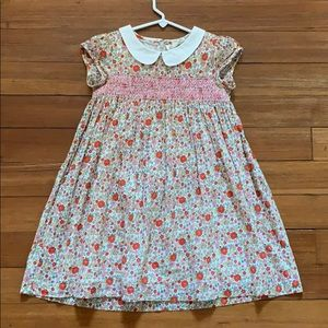 Mini Boden Liberty Smocked Floral Dress